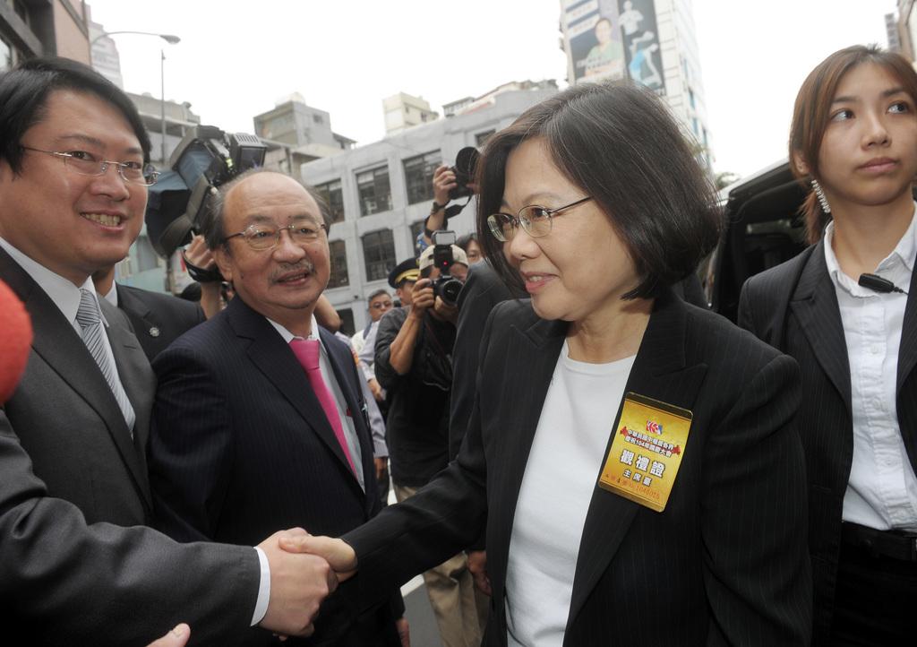 Tsai draws media scrutiny at Double Ten
