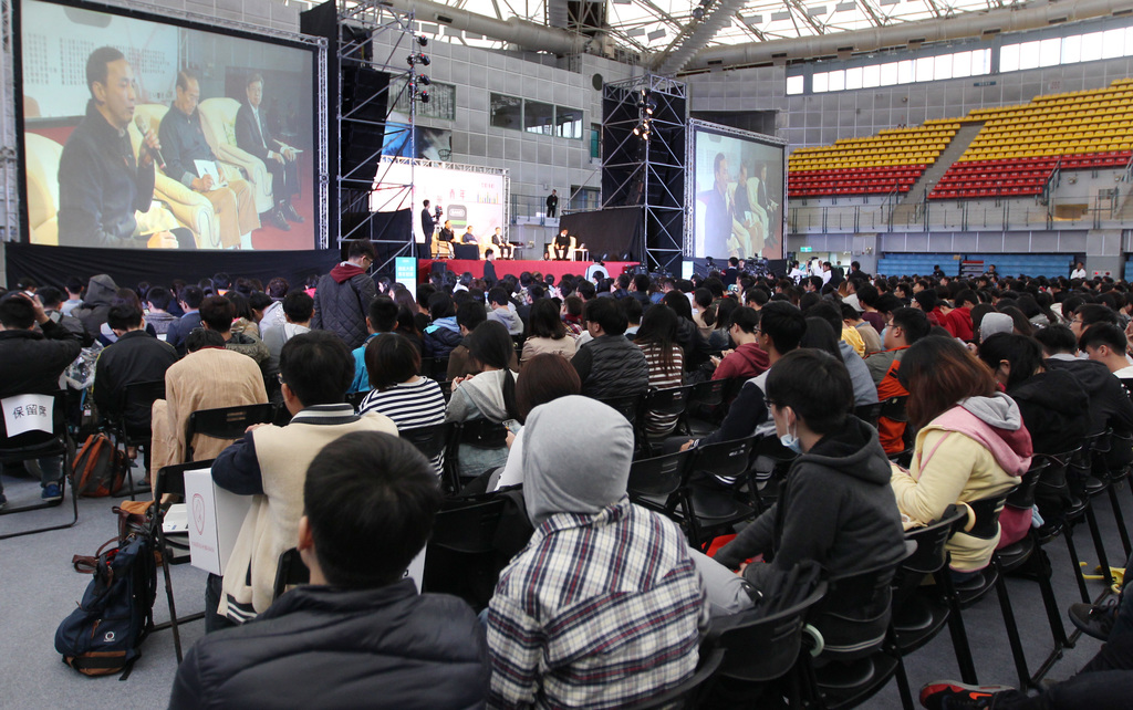 Chen Chien-jen receives positive review at the youth forum