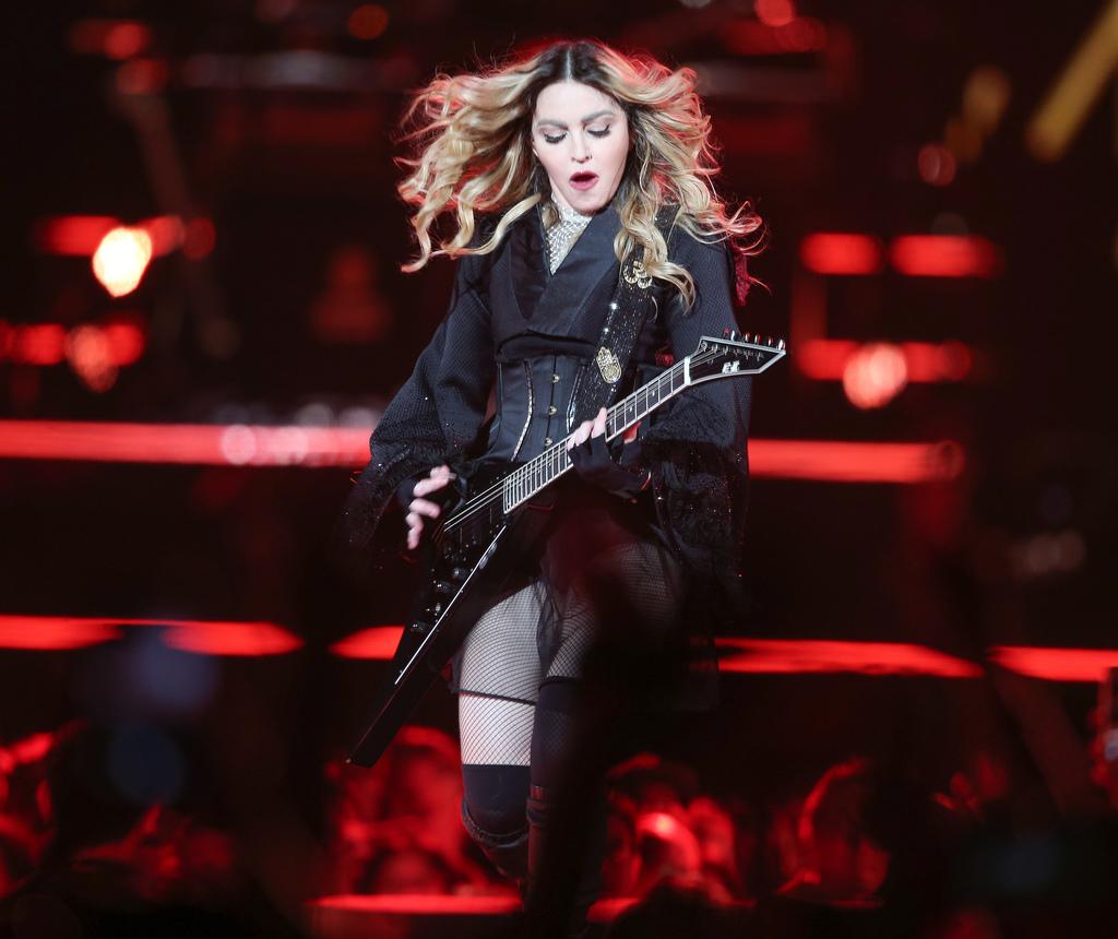 流行樂壇女皇瑪丹娜2016年2月在台北小巨蛋開唱