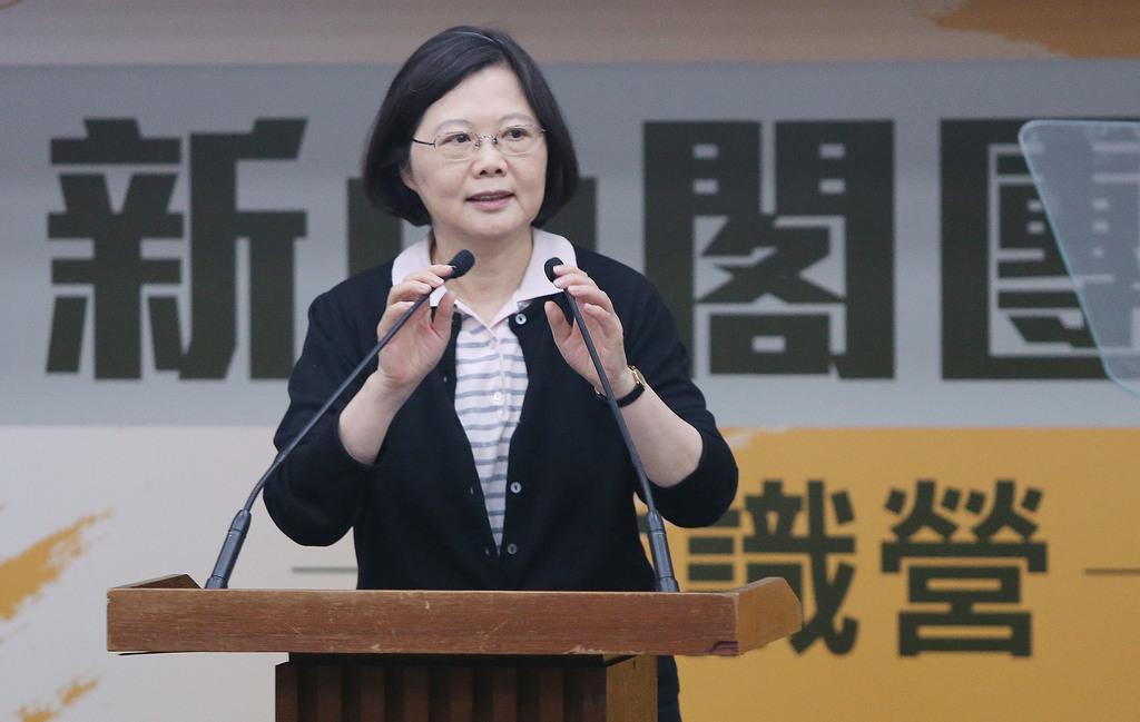 President-elect Tsai warns own Cabinet members