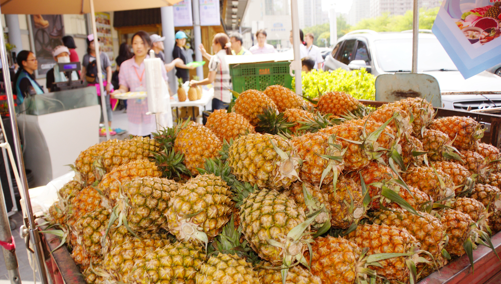 China's appetite for Taiwan pineapples grows