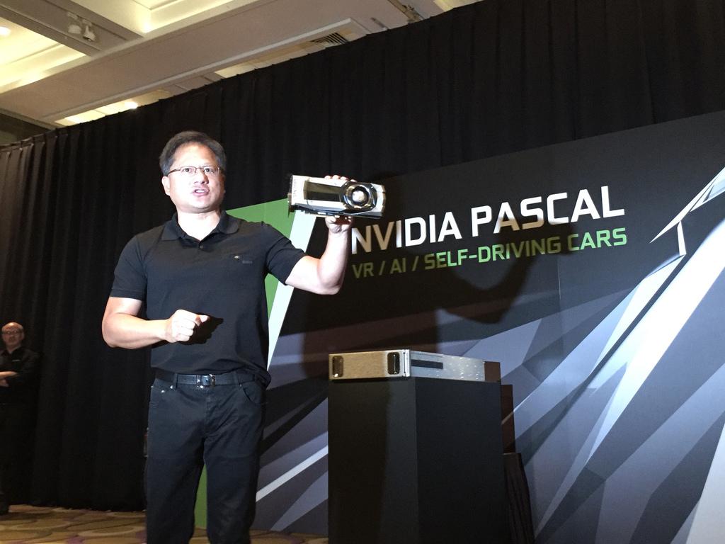 Nvidia CEO and founder Jensen Huang at Computex 2016.