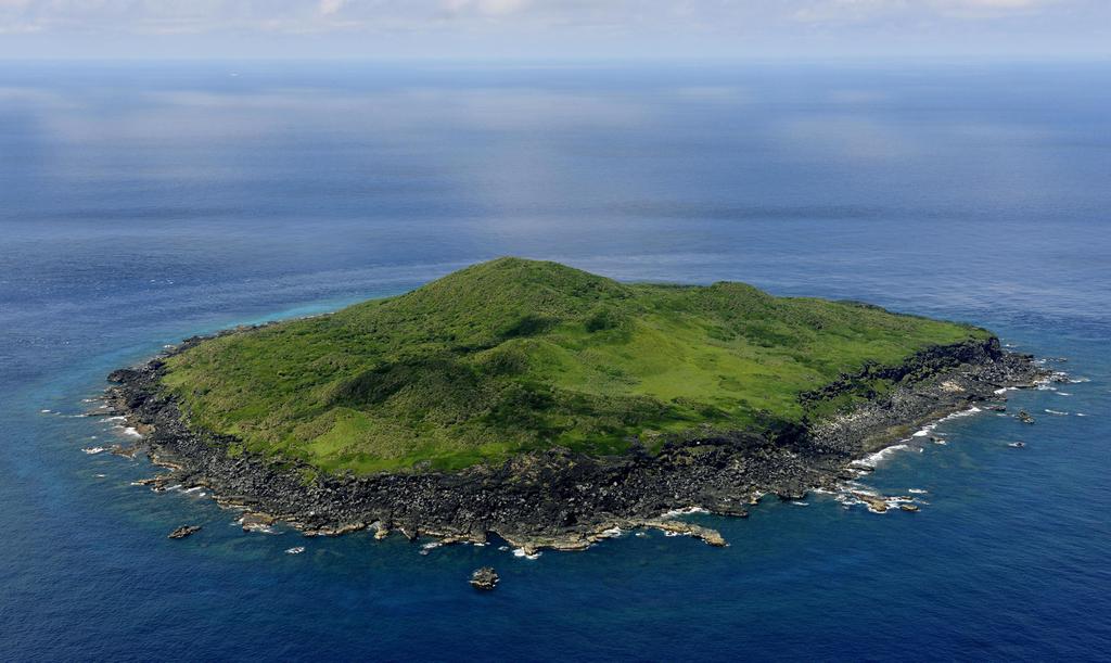 圖為2011年6月拍攝的久場島照片。