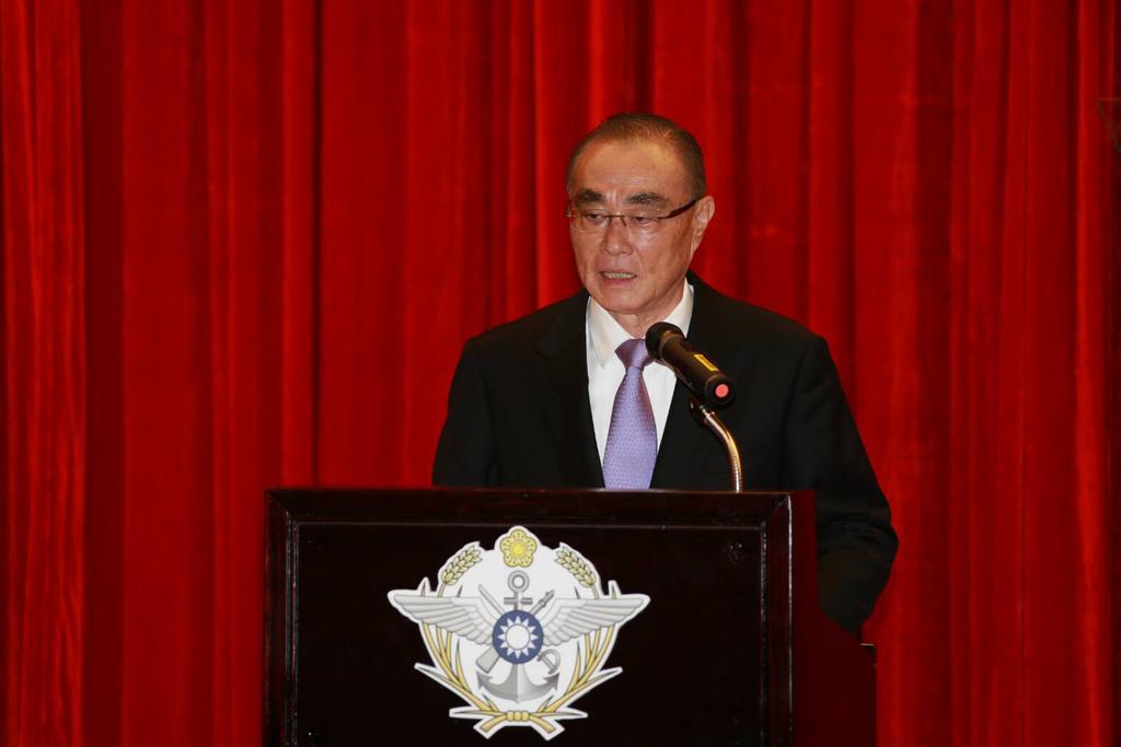 前國防部長馮世寬將擔任五月掛牌的國防安全研究院董事長