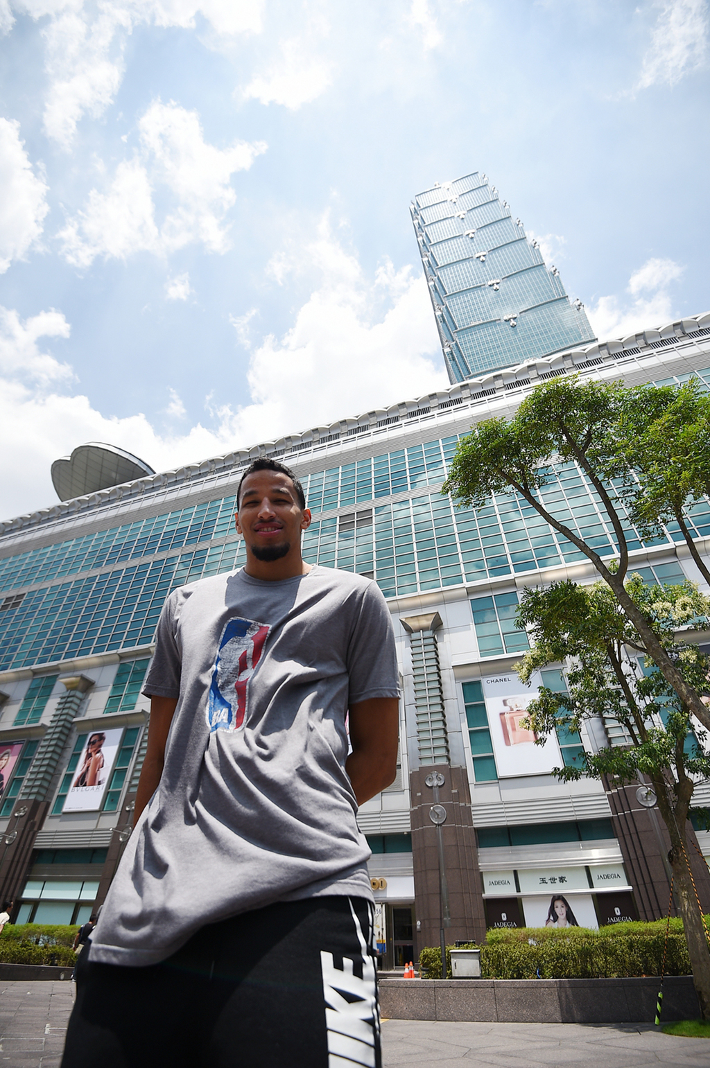 NBA star Andre Roberson will perform in a shortfilm to promote Taiwan ahead of the 2017 Universiade.