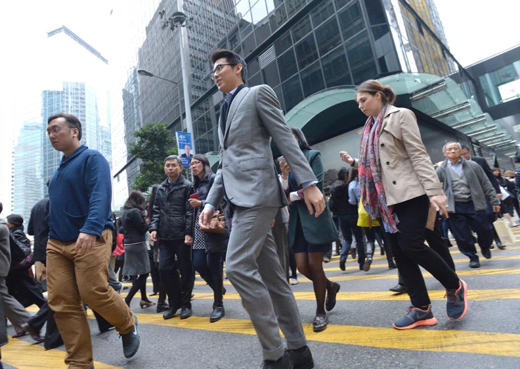 香港中環金融中心(圖片來自香港政府新聞處)