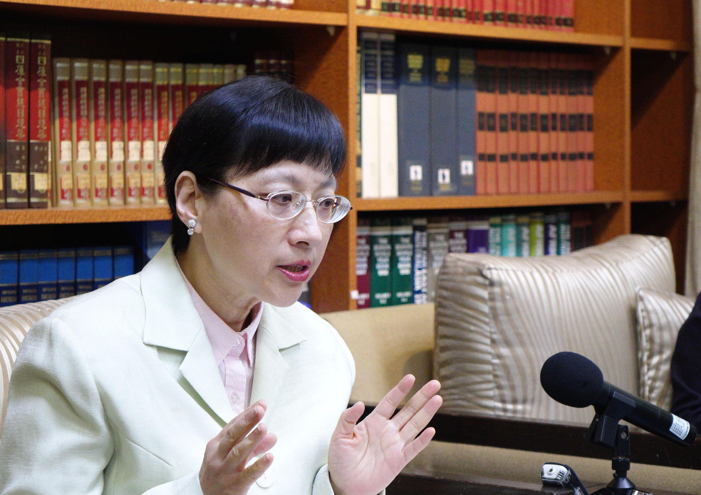 外交部歐洲司司長高安(中央社記者顧荃攝 2017年1月3日)