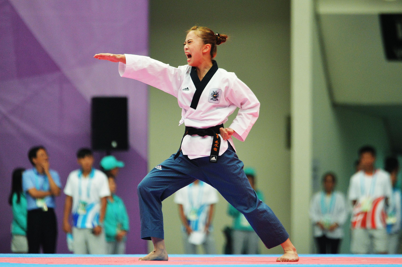 Female Taekwondo athlete wins Taiwan's 1st medal at Universiade