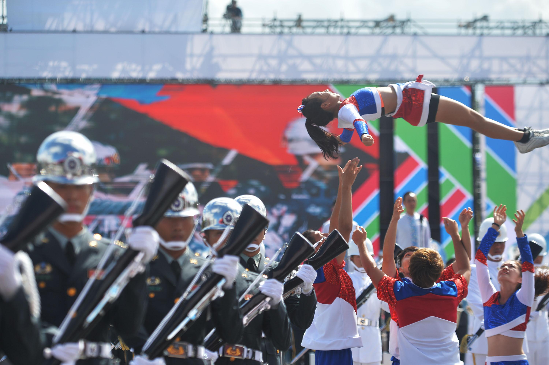 Taiwan military honor guards, marching band c    | Taiwan News