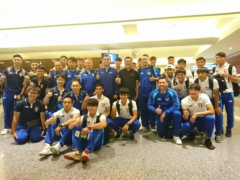 Taiwan's football team heads out for Qatar ahead of crucial Nov.14 match against Turkmenistan.