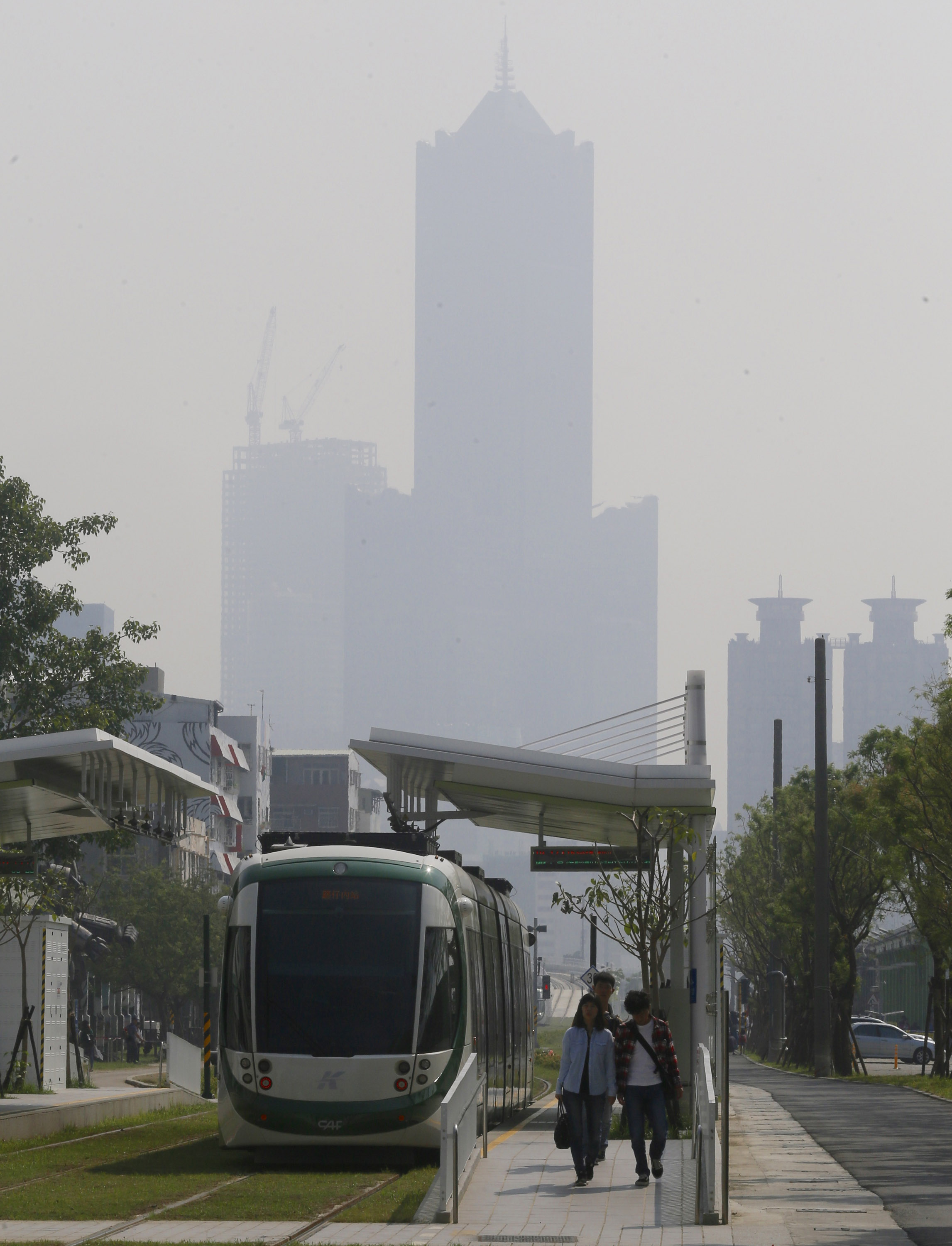Kaohsiung to fight air pollution with 3 months of free public transport.