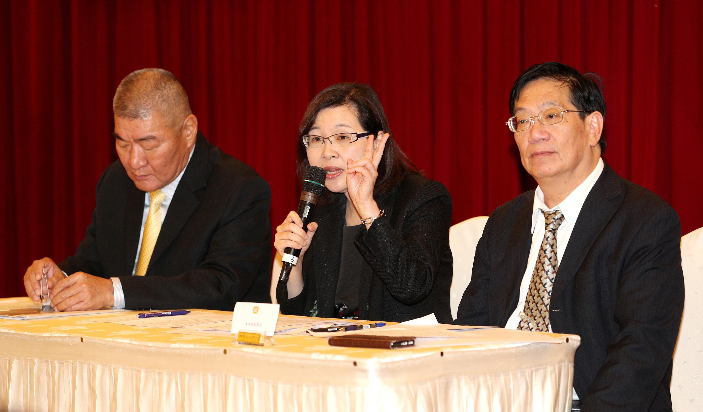 台灣代表於2018年3月15至16日出席第七次台日漁業委員會議,圖中為台灣日本關係協會秘書長張淑玲(照片來源:資料照片/中央社提供)
