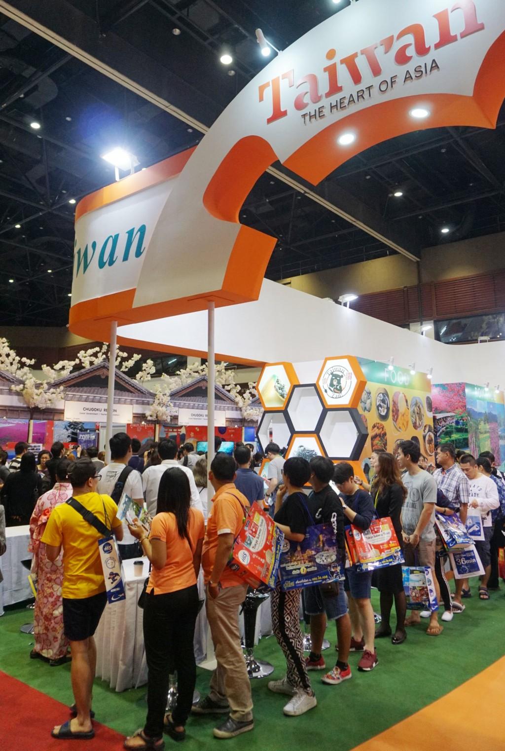 台灣觀光業者參加泰國春季旅遊展
