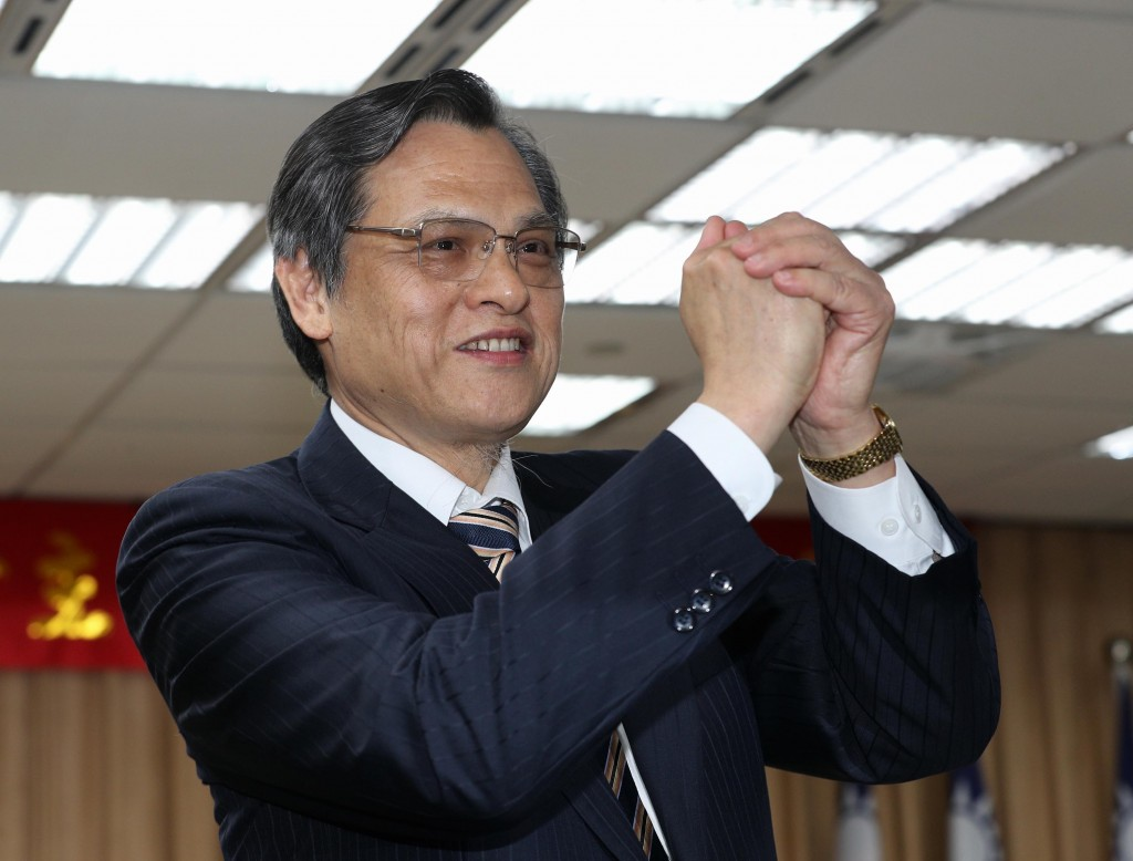 Chen Ming-tong (陳明通), minister of Taiwan's Mainland Affairs Council