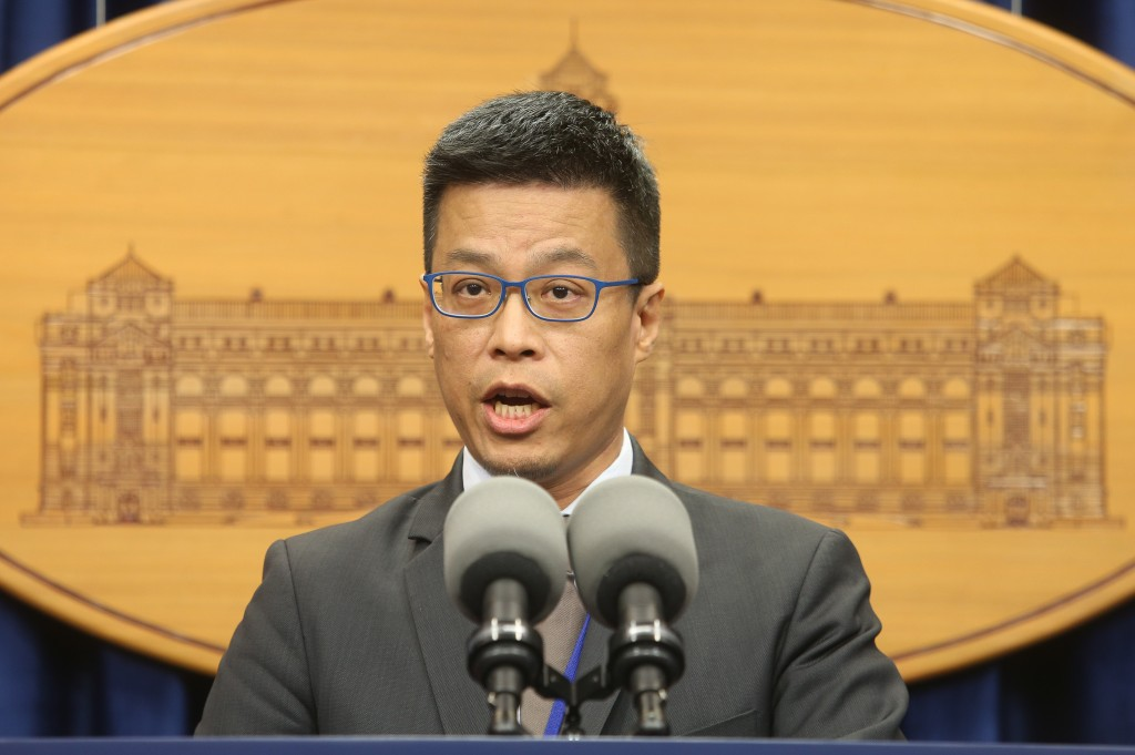 總統府發言人黃重諺(照片來源:資料照片/中央社提供)