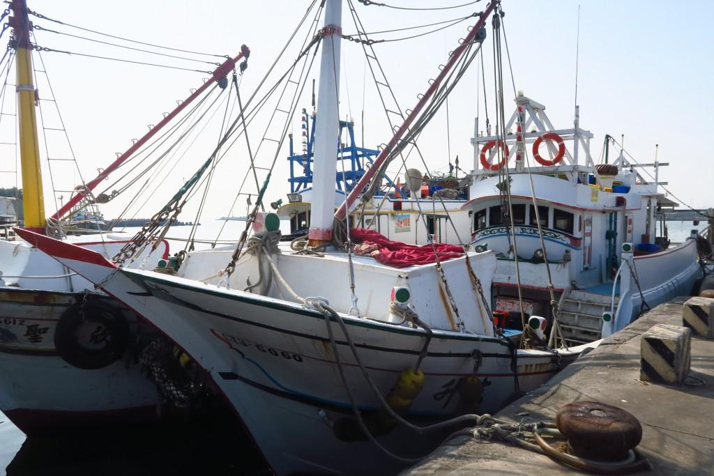 漁船示意圖