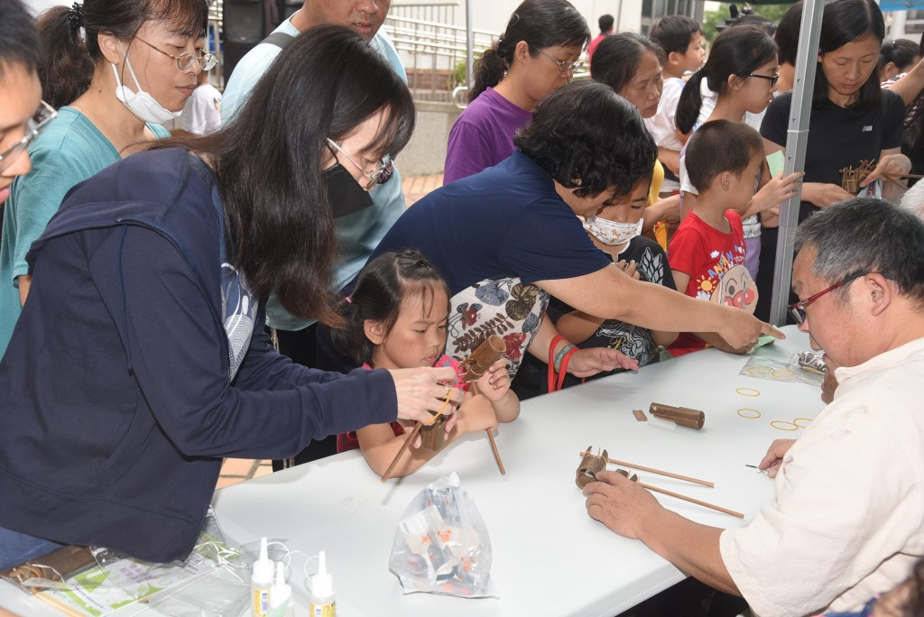 南投縣竹藝博物館12日舉辦成立30週年館慶 (南投縣政府提供)