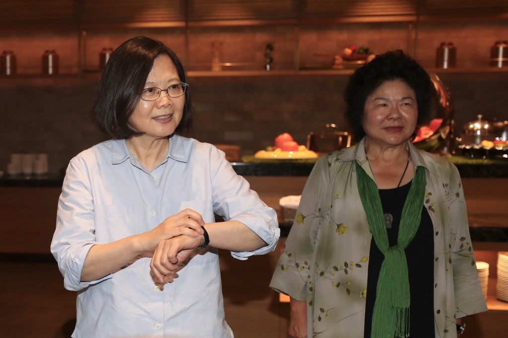 President Tsai Ing-wen and Secretary-General to the President Chen Chu