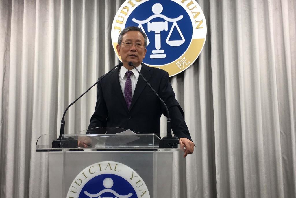 Judicial Yuan Secretary-General Lu Tai-lang