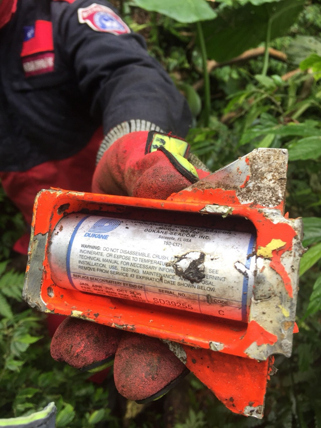 A search team found the crashed F-16's black box.