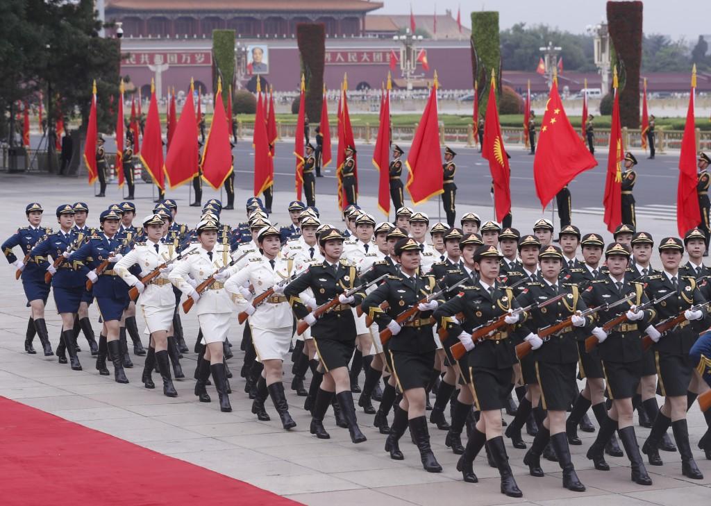 中國在與全世界為敵