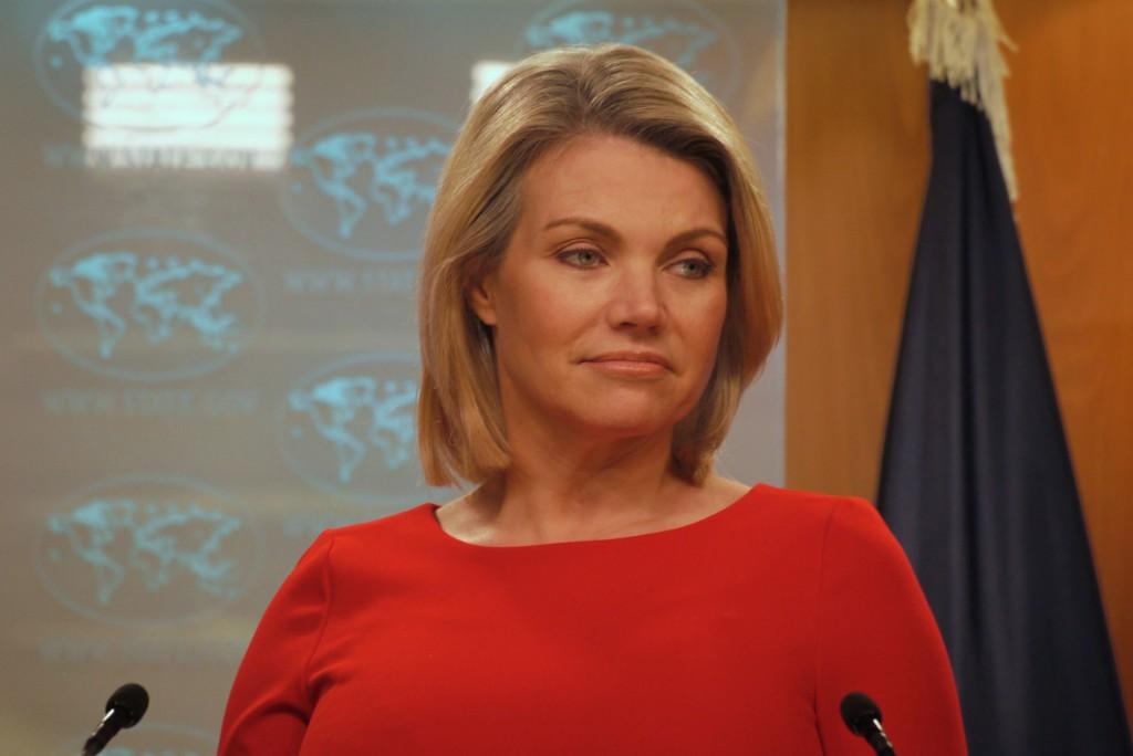 美國國務院發言人諾爾特記者會資料照