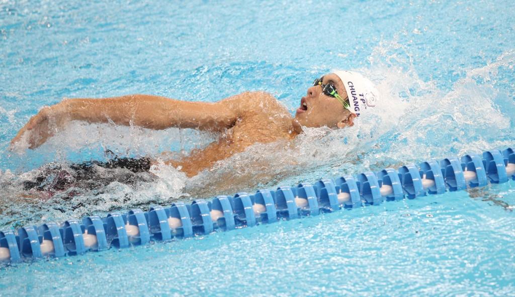 2018雅加達-巨港亞洲運動會,23日在游泳項目男子 200公尺仰式預賽中,中華隊莊沐倫游出2分06秒56,無 緣晉級決賽。 中央社