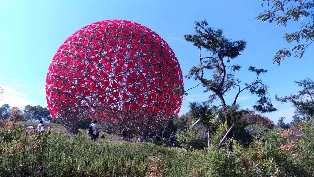 臺中花博后里馬場森林園區(照片來源:中央社提供)