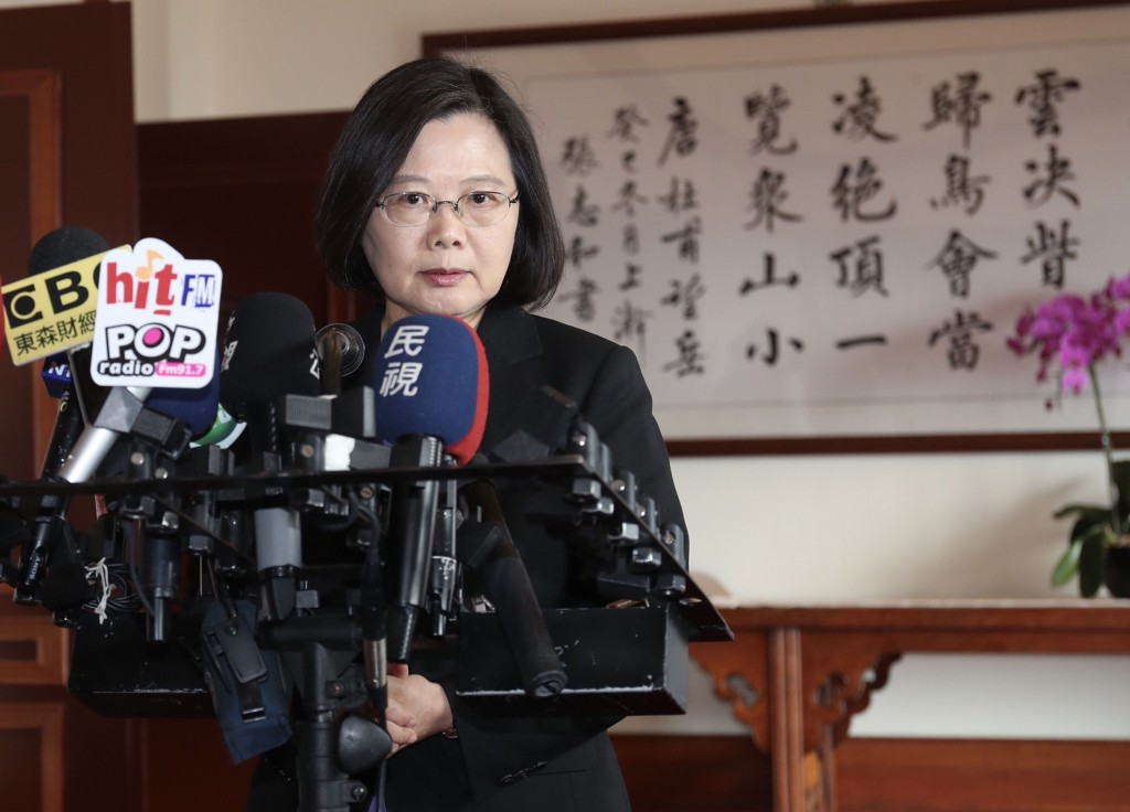 President Tsai Ing-wen lashed out at former President Ma Ying-jeou Friday.