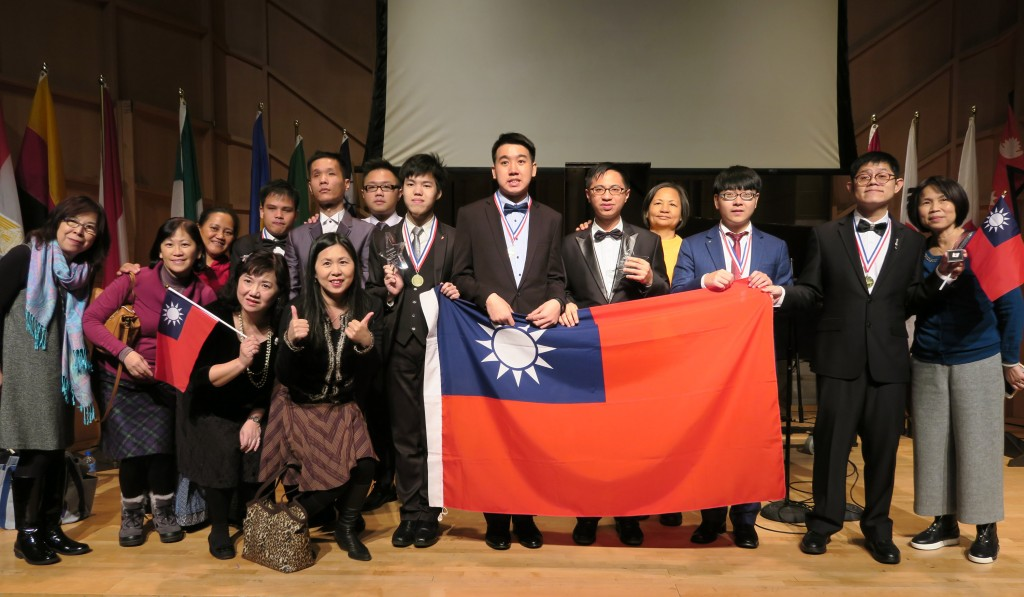 Taiwanese pianists took home one gold and one silver at the fourth International Piano Festival for People with Disabilities