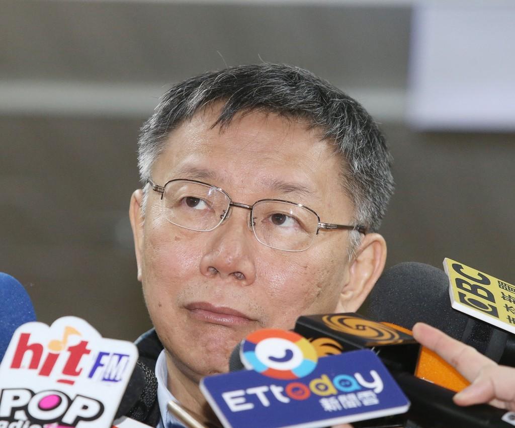 代表柯家軍參加立委補選的陳思宇失利,得票數未破萬,台北市長柯文哲(圖)28日受訪時說,「我看選前民調差不多就是這樣」。