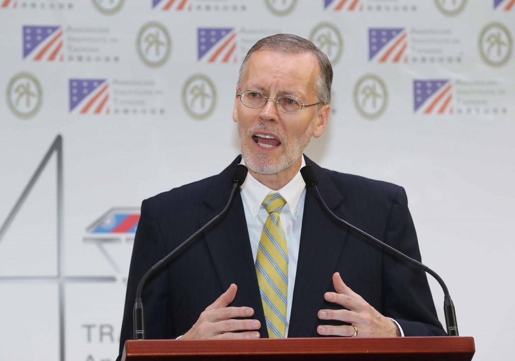 美國在台協會處長酈英傑(William Brent Christensen)(照片來源:資料照片/中央社提供)