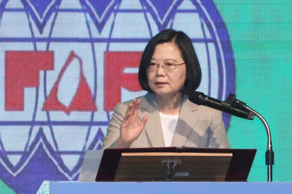 President Tsai at the FAPA banquet, March 30