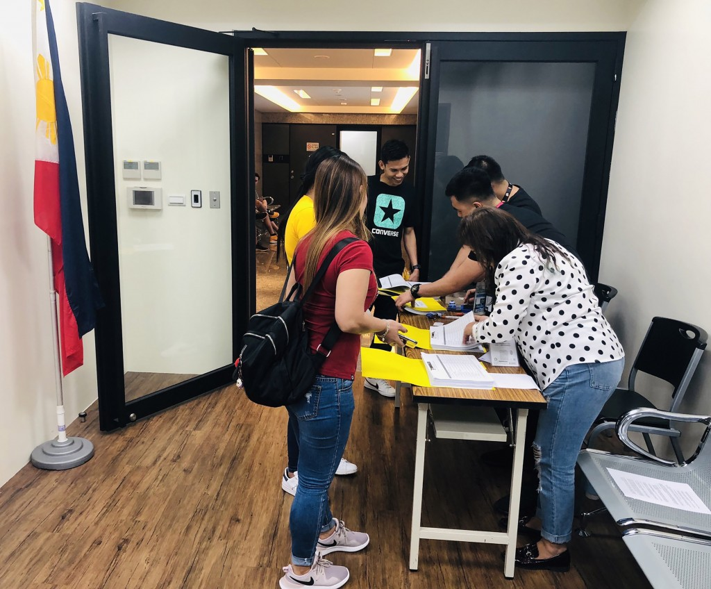 Filipinos living in Taiwan can vote in mid-term elections at three locations.