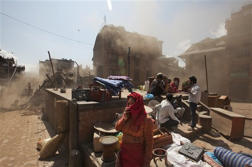 Nepal quake death toll tops 4,000; villages plead for aid