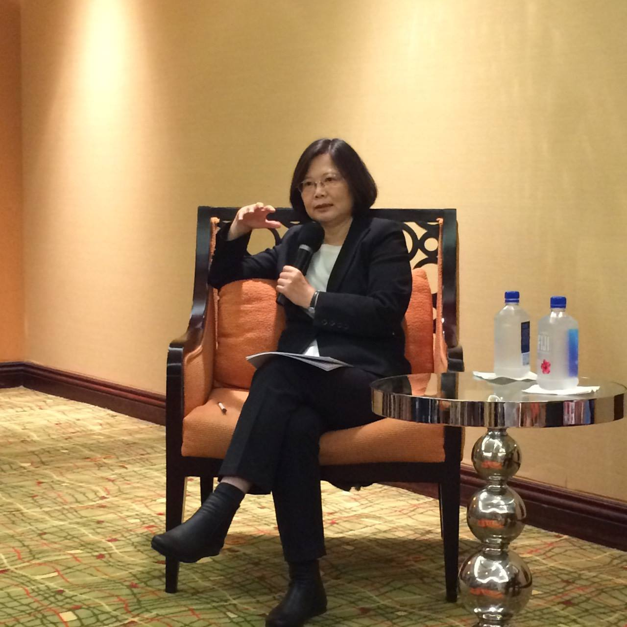 State Dept hosts rare meeting for Taiwan's opposition leader