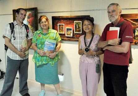 Lynn Miles (one the far right), passed away on June 08. He contributed his life to the democracy of Taiwan.