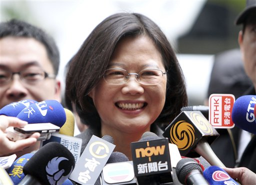Tsai says she has a list of ideal candidates for running mate