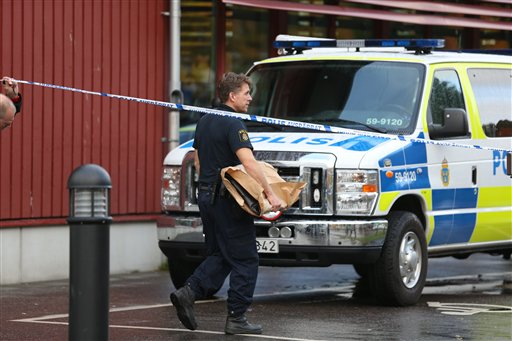 Teacher, student killed in stabbing attack on Swedish school