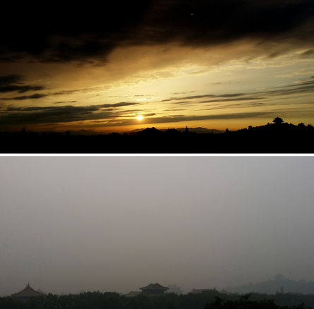 Climatologist warns against the hazardous PM2.5 from China