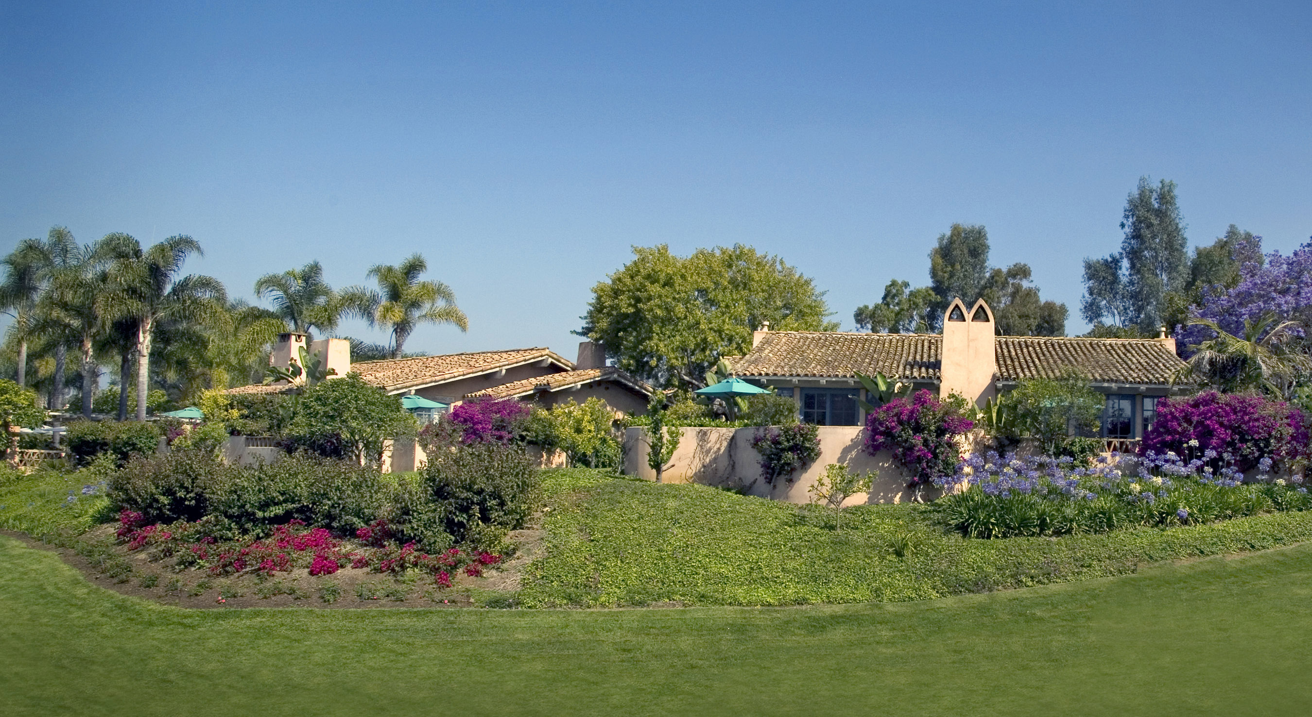 Rancho Valencia, an hotel in Rancho Santa Fe, California is shown in this June 2007 photo.