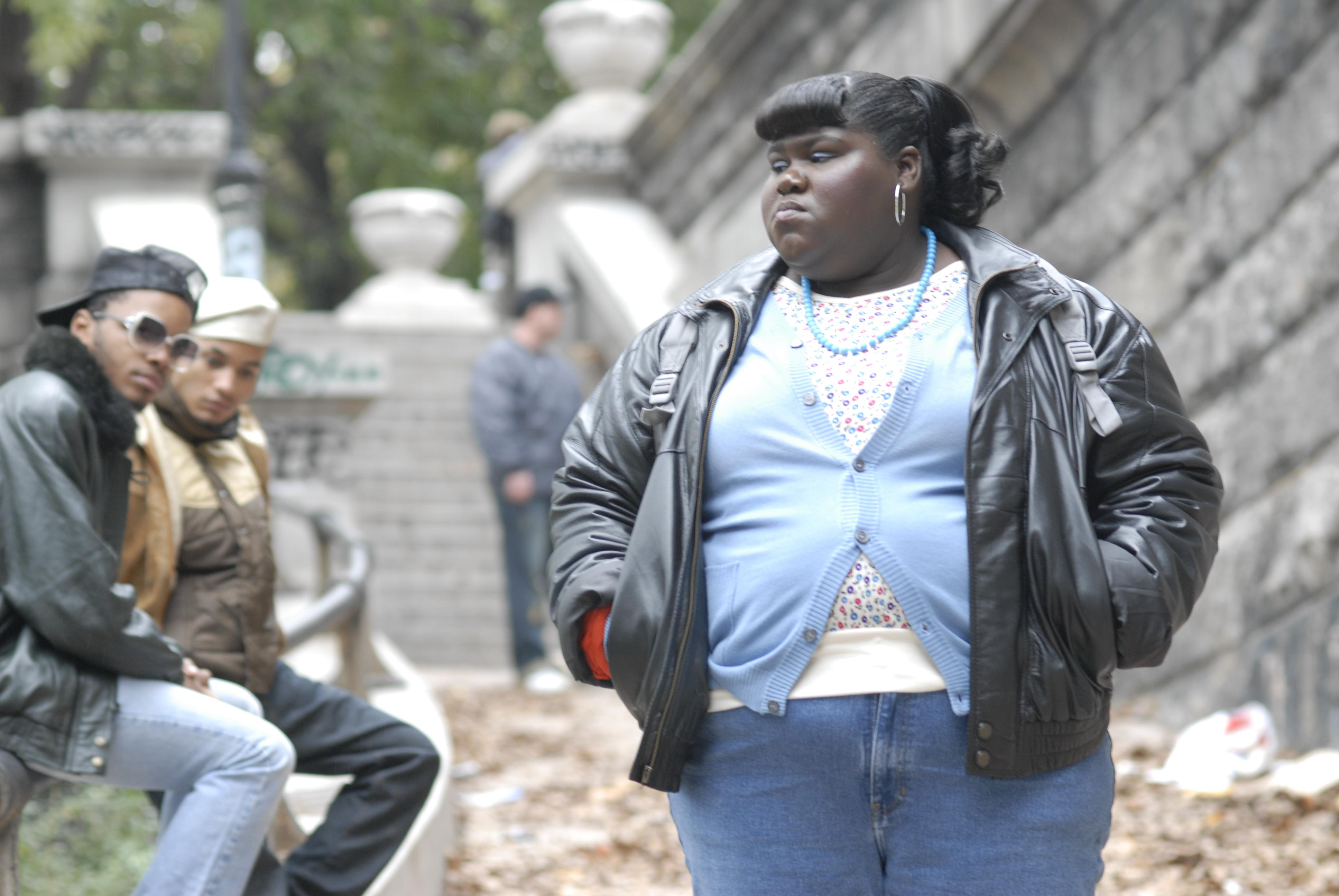 Gabourey Sidibe is shown in a scene from 'Precious' in this film publicity image released by Lionsgate films.