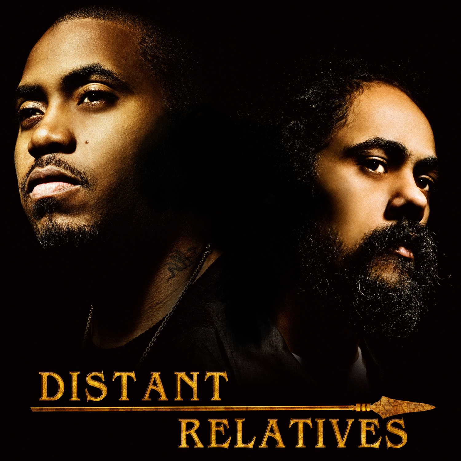NAS AND DAMIAN `JR. GONG' MARLEY `DISTANT RELATIVES'