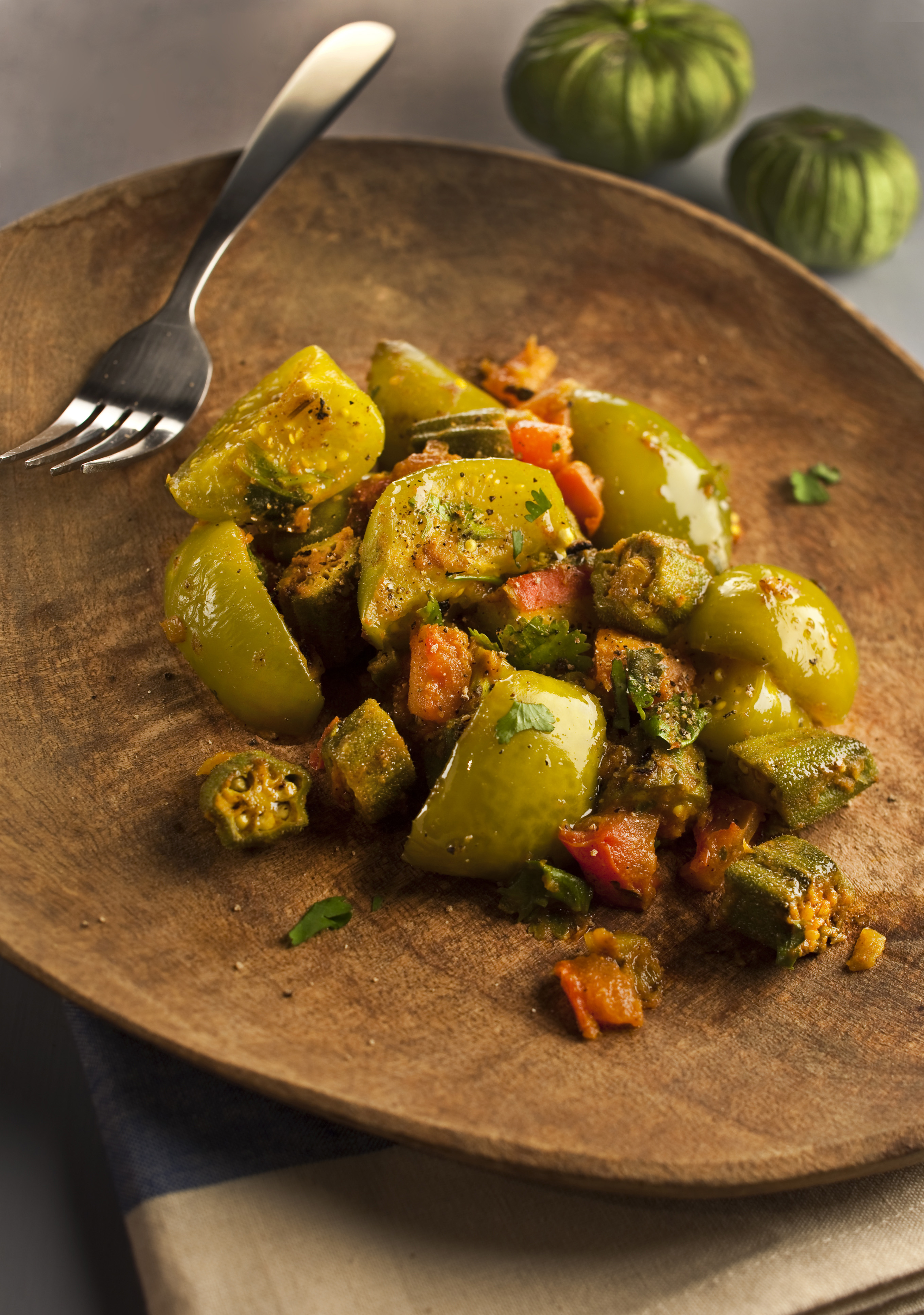 The tomatillo adds zing to many dishes.