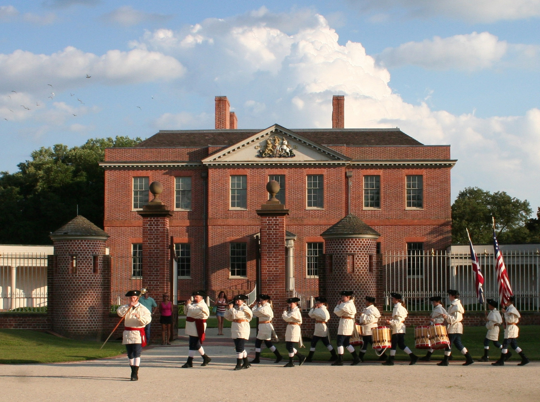Tryon Palace is one of the major attractions in New Bern, North Carolina. The town is celebrating its 300th anniversary.