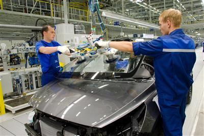 Hyundai Motor opens manufacturing plant in Russia