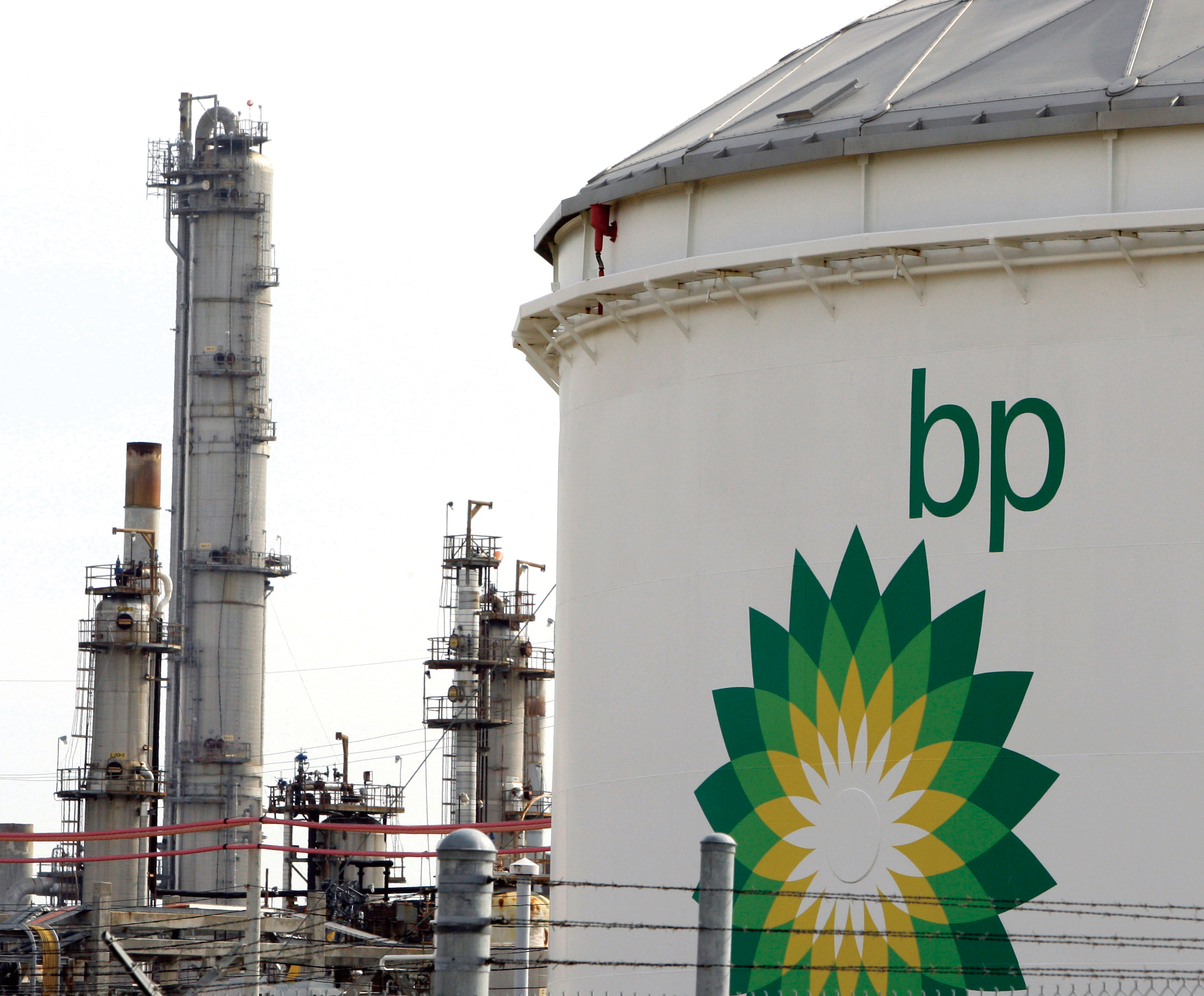 This Jan. 4, 2008 file photo shows BP's Texas City refinery in Texas City, Texas.(Associated Press)