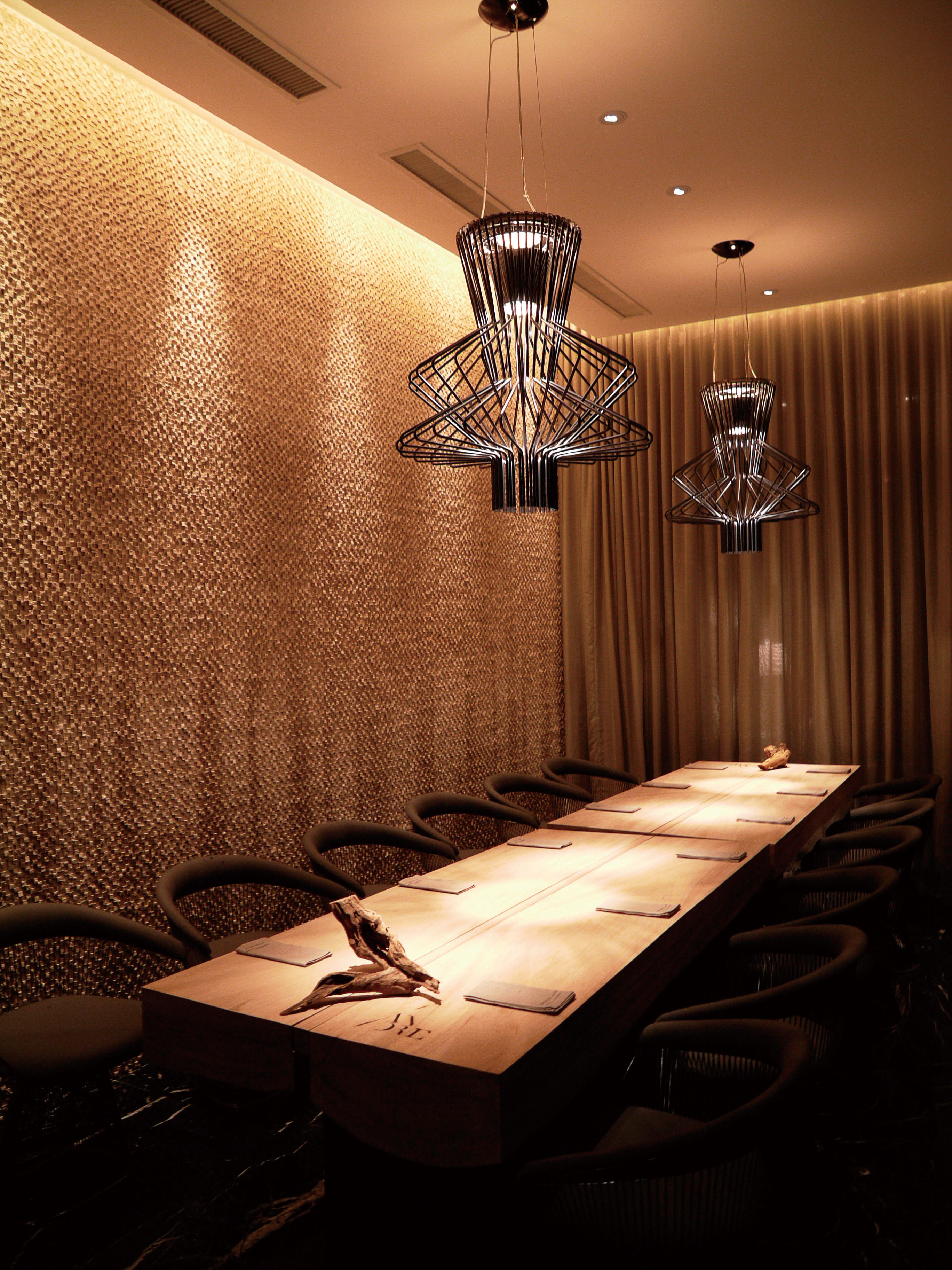 A private dining room in Restaurant Andre.