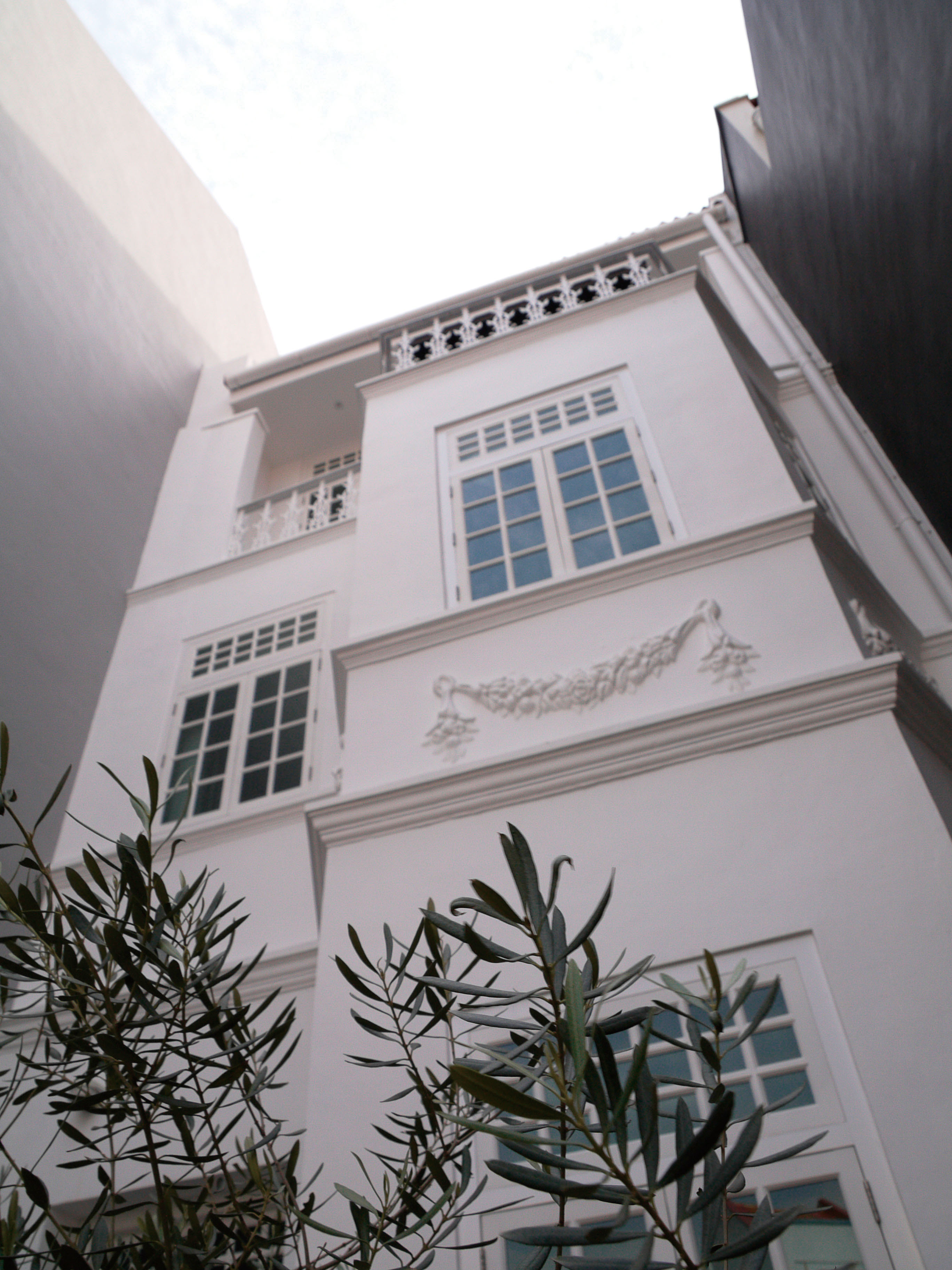 The facade of Restaurant Andre.