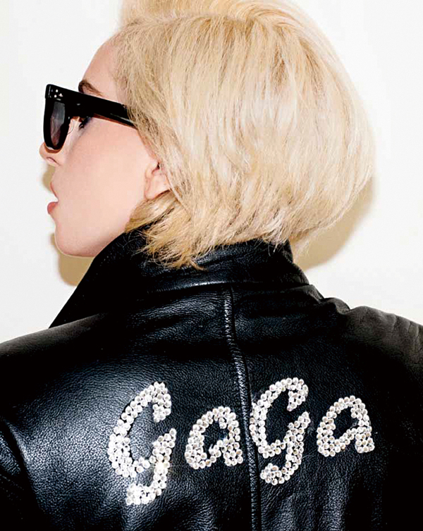 """The cover of the book """"Lady Gaga x Terry Richardson,"""" in an undated handout photo. (The New York Times)"""